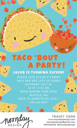 Taco Invitation