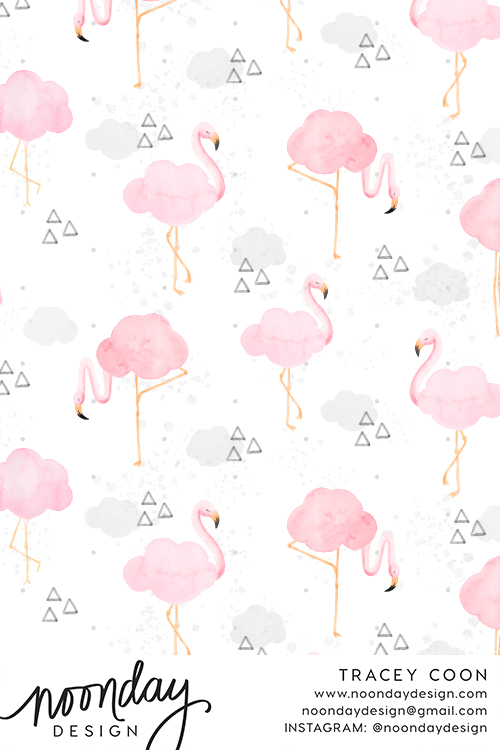 Chance of Flamingos Fabric
