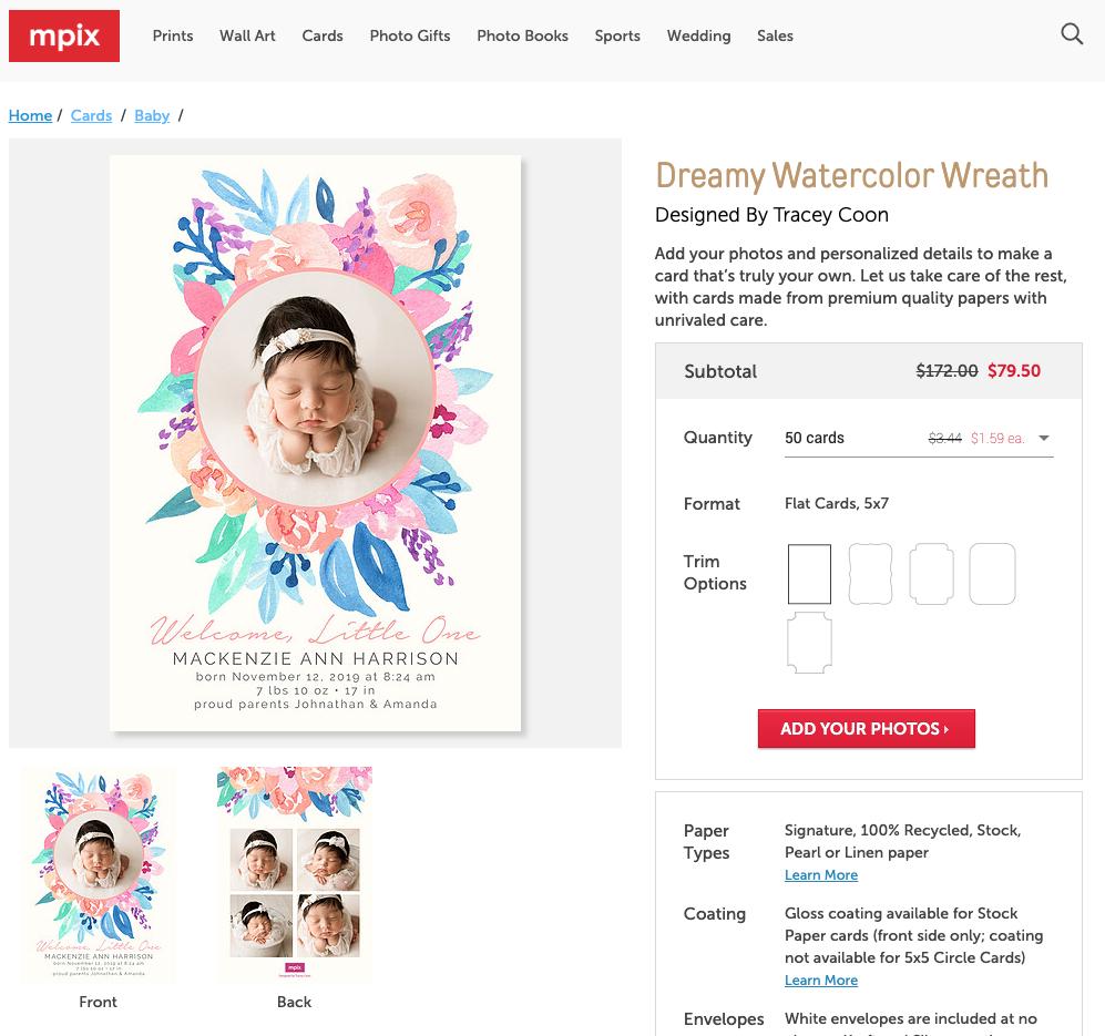 Dreamy Watercolor Wreath