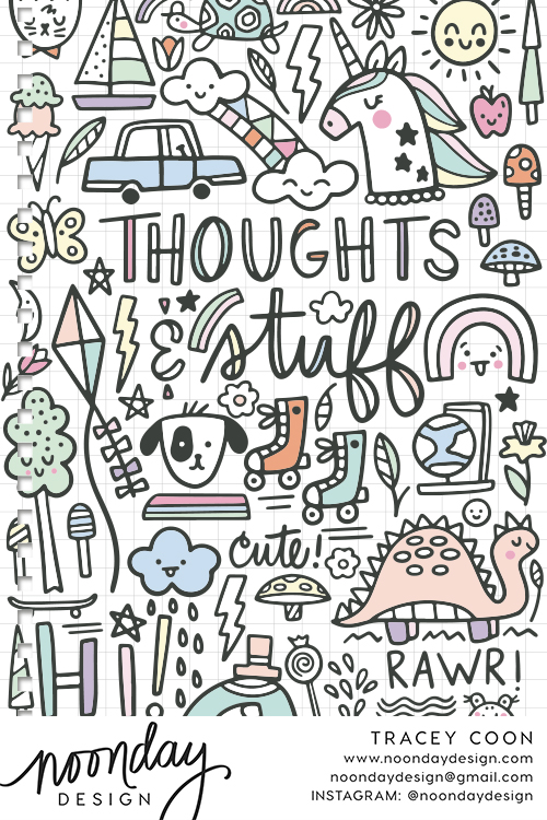 Thoughts & Stuff Notebook