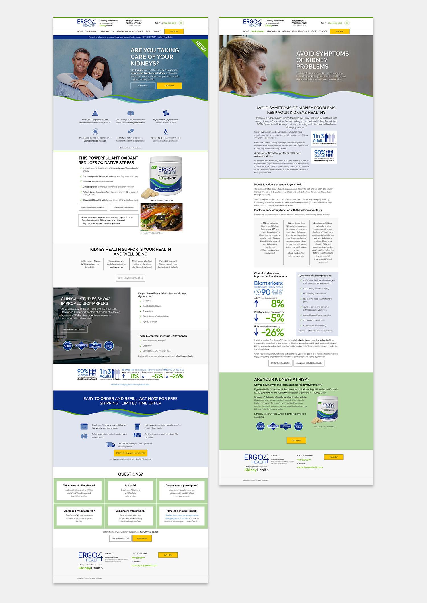 Ergo4health Website 2