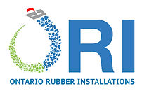 ORI, Ontario Rubber Installations, pour-in-place rubber safety surfacing company logo