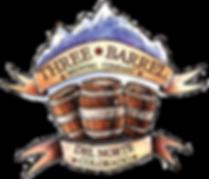 Three Barrel Brewing Badge