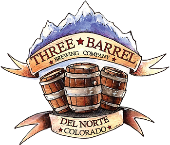 Three Barrel Brewing Badge
