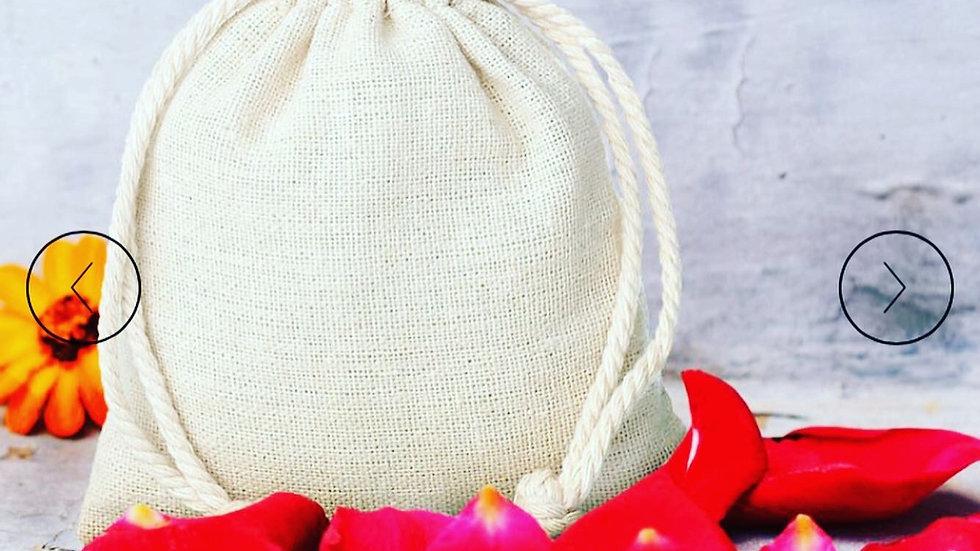 Linen Wax Melt Gift Bag