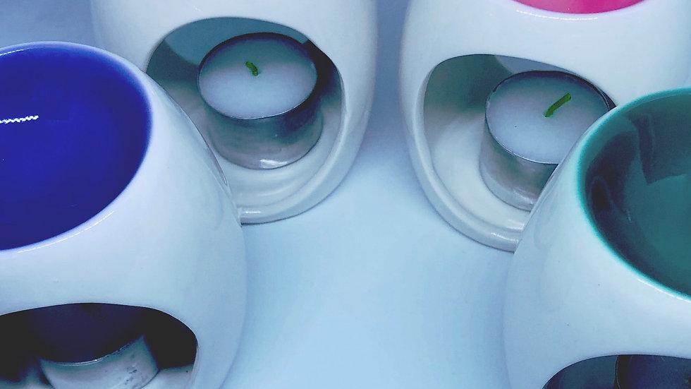 Wax Melt Burner - FREE WAX MELTS