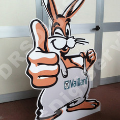 Sagoma mascotte Vaillant