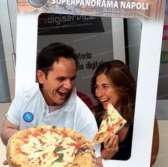 cornice selfie, photo booth prsonalizzato
