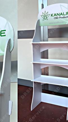 Easy Shelf Light - espositore con ripiani