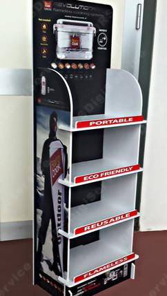 Easy Shelf - Espositore con ripiani