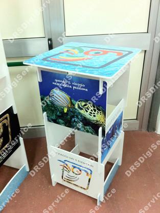 Banchetto promozionale Easy Desk Tower
