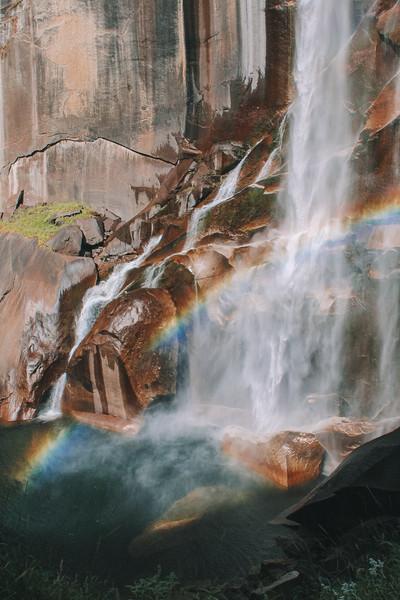Magic amongst the cascades of Vernal Falls.