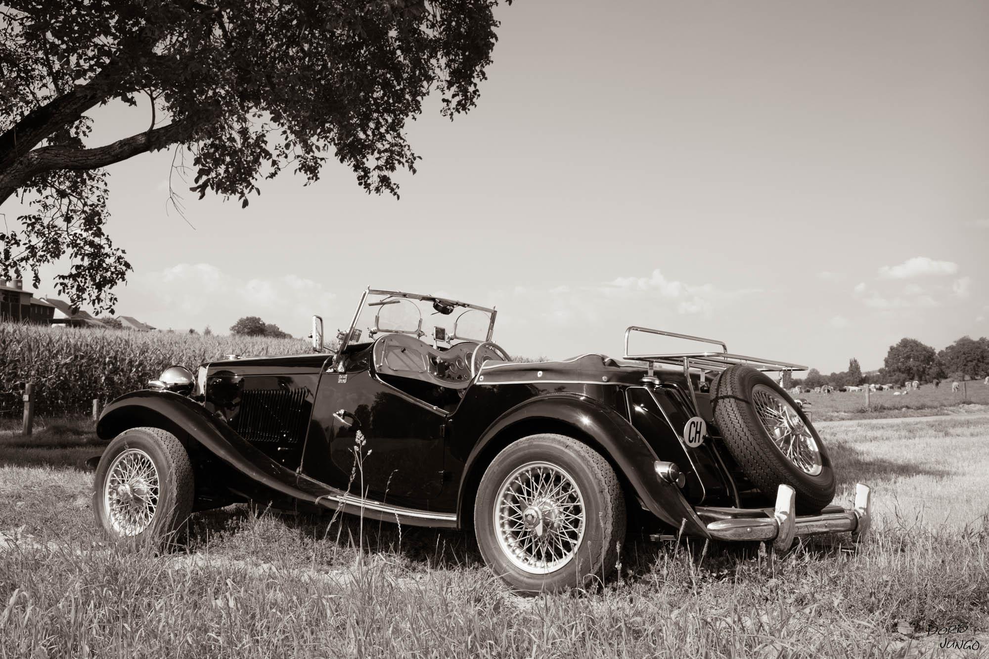 MG TD 1953 Vers-chez-Perrin