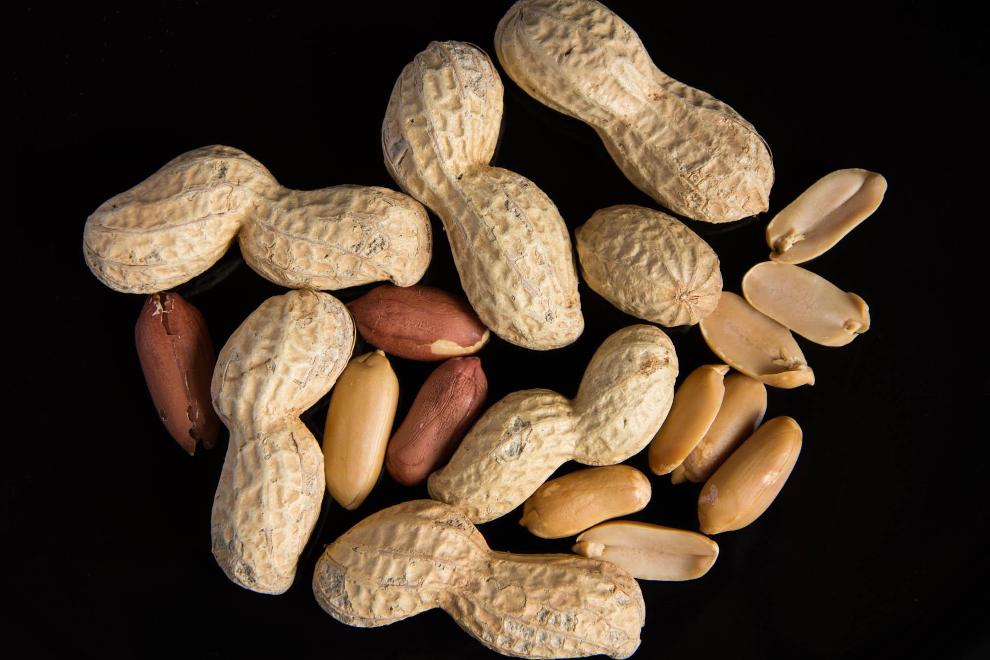 Les cacahuètes
