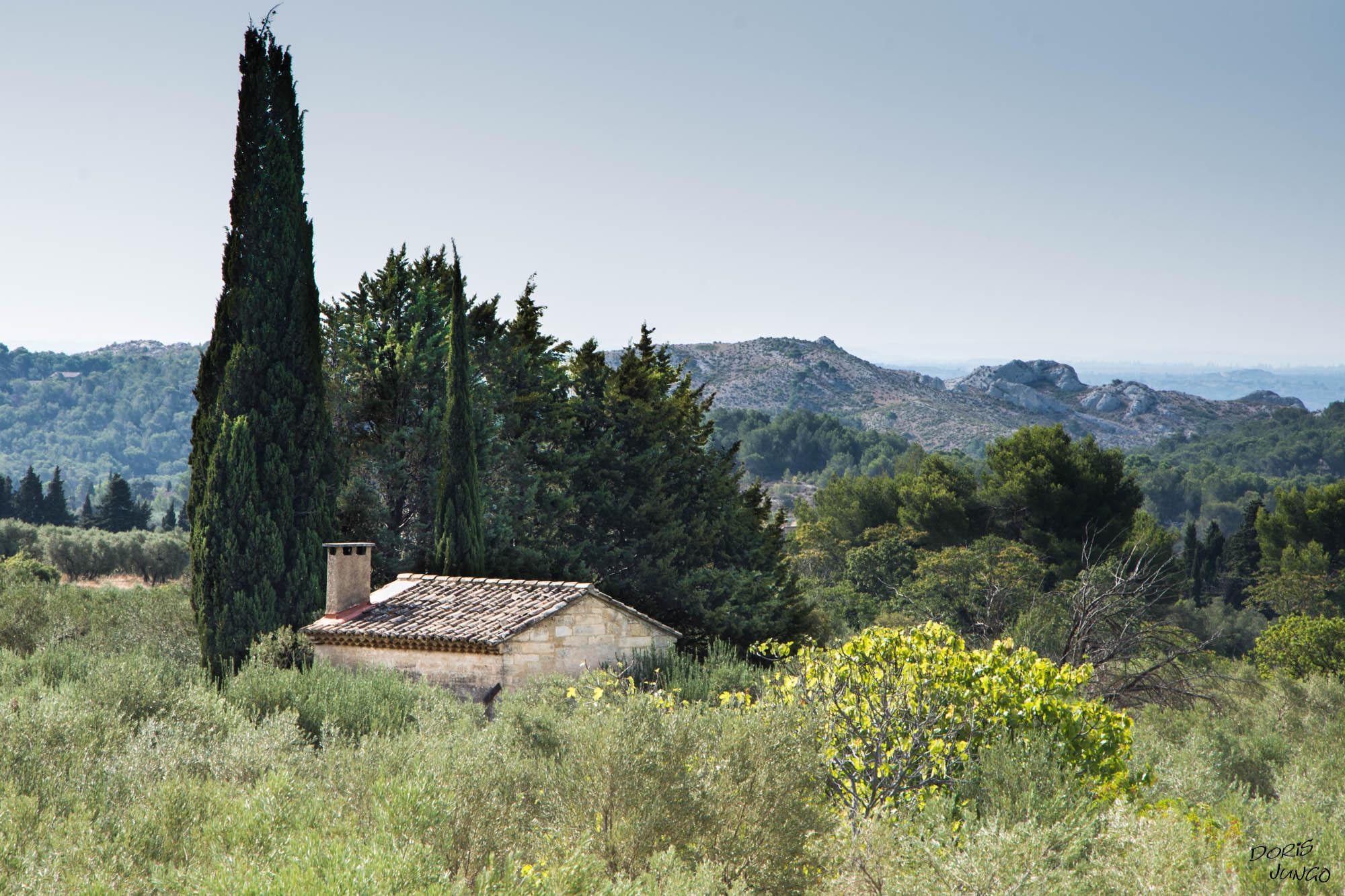 Cabanon aux Baux de Provence