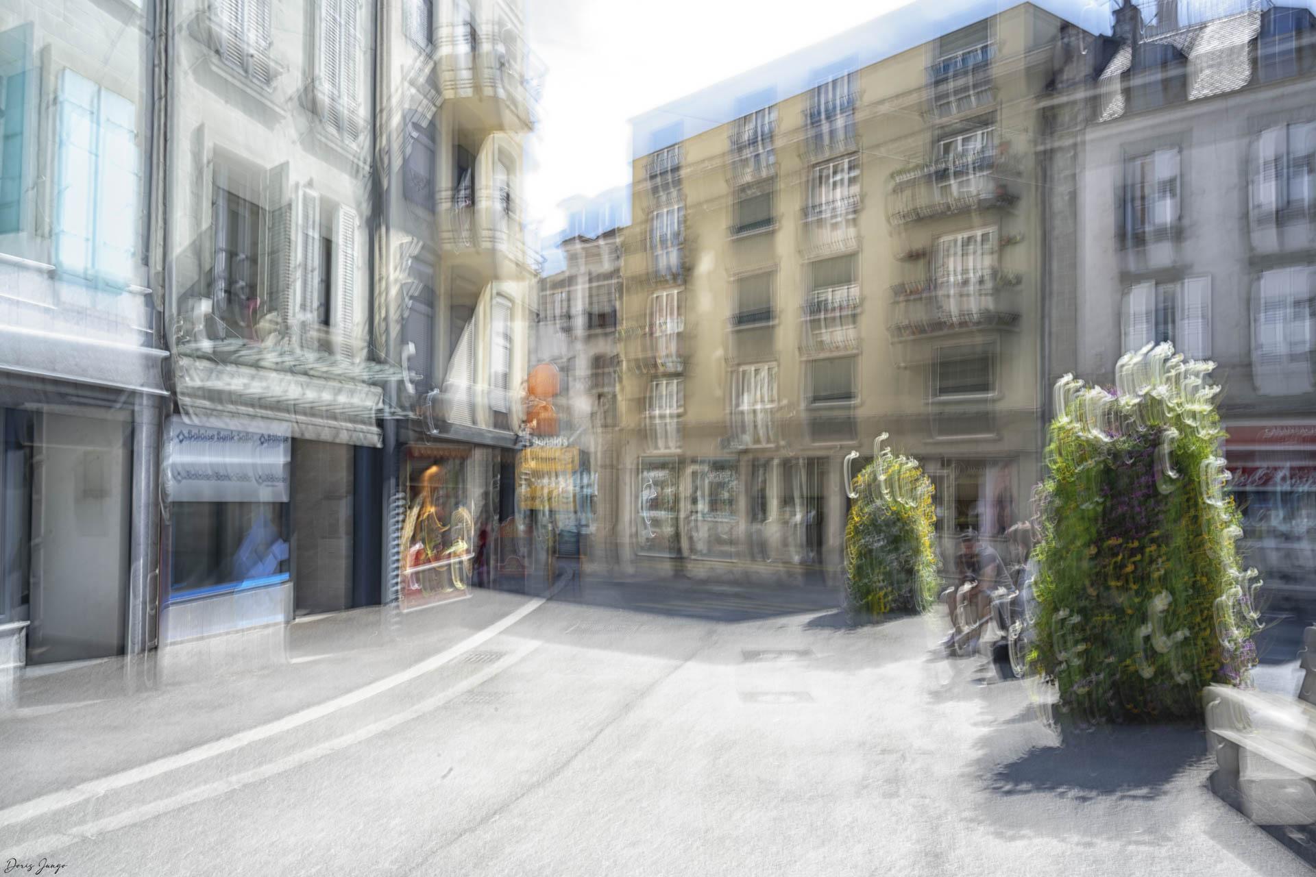 Intersection Grand'Rue - Rue de Lausanne