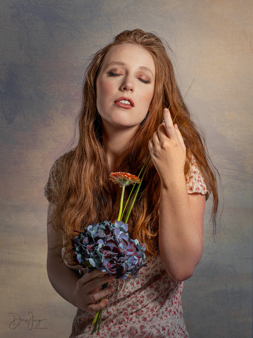 L'Hortensia bleue