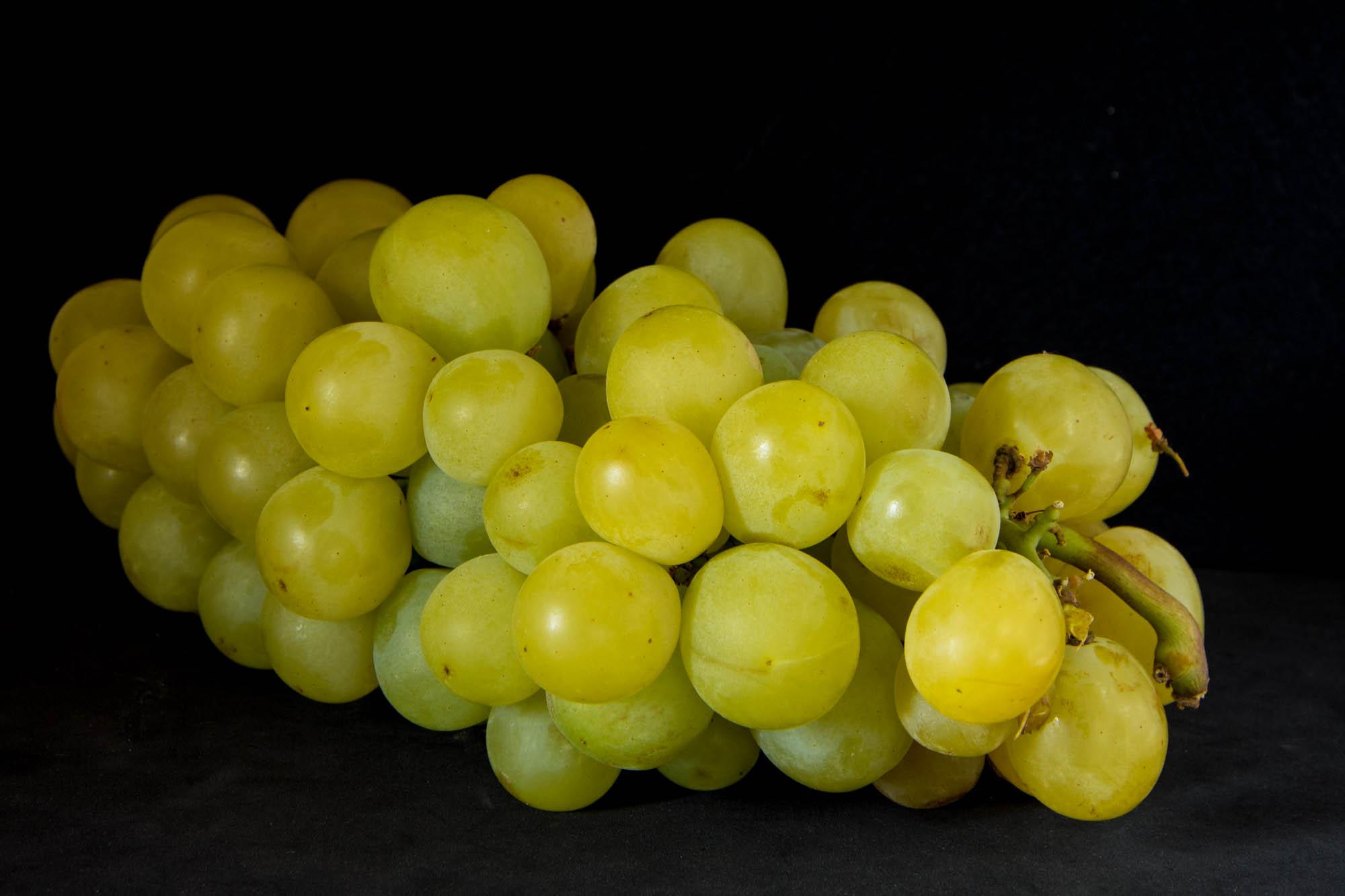 Des raisins blancs