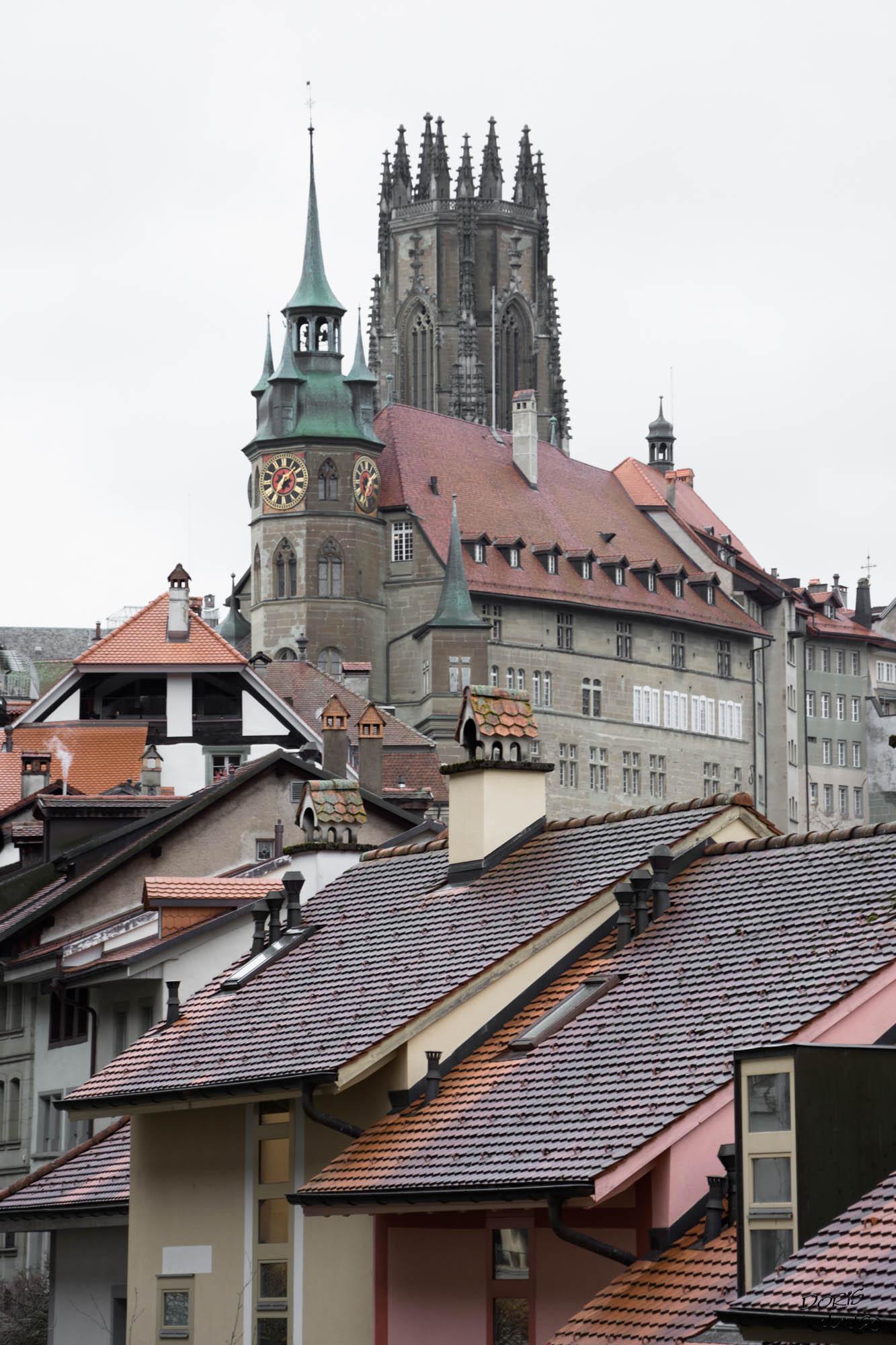 La mairie et la cathédrale