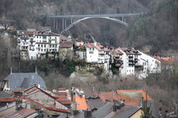 Le pont de Gottéron
