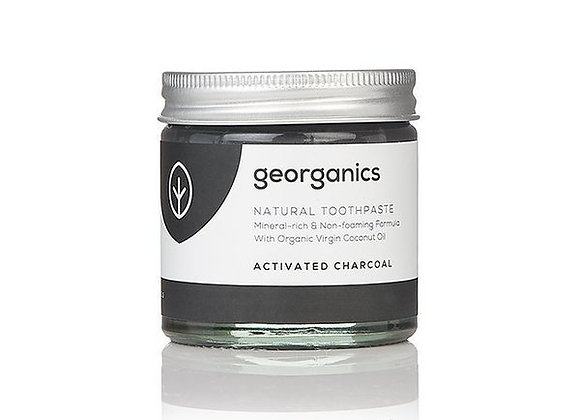 Georganics zubní pasta - activated charcoal