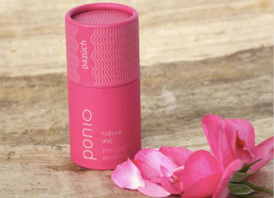 Přírodní deodorant Ponio - Růžová alej