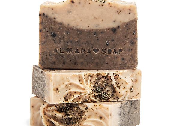 Tuhý šampon Almara soap Dry hair