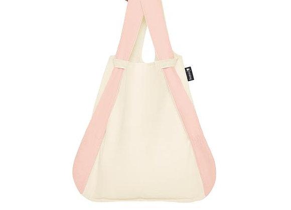 Notabag taška růžovobílá