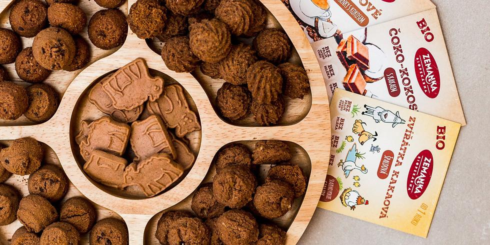 Pečení sušenek se Zemankou! (workshop + přednáška)