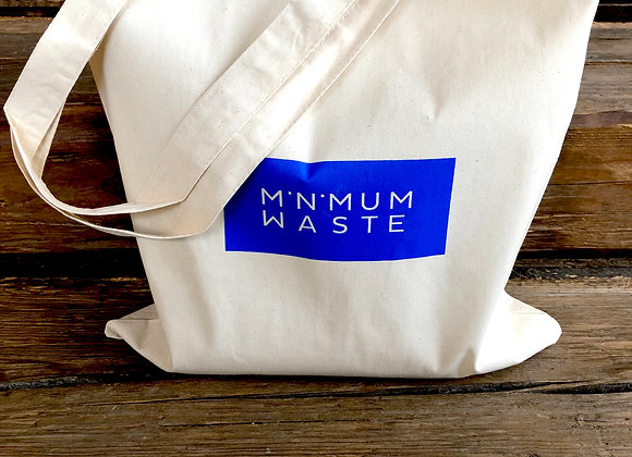 Minimum Waste cotton tote bag