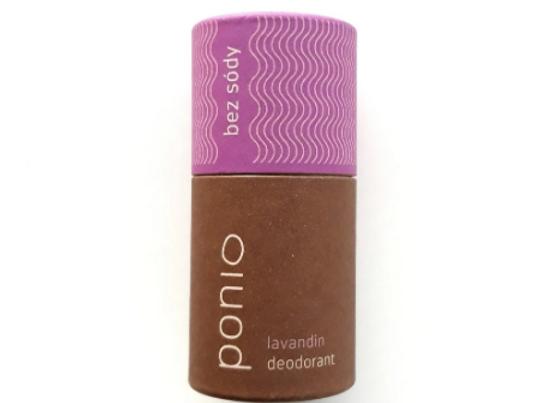 Přírodní deodorant Ponio sodafree - Lavandin