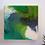 Thumbnail: C O U N T R Y - G R E E N  resin painting 20x20cm