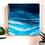 Thumbnail: S E A - G R E E N  original resin painting 20x20cm