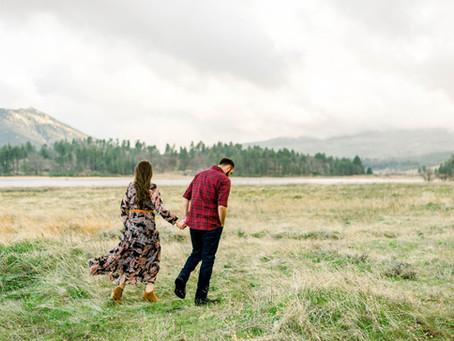 Elizabeth and Robert at Lake Cuyamaca