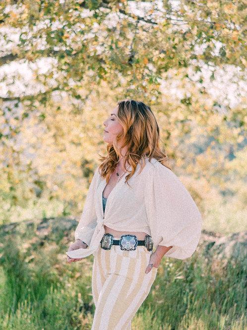 """""""Daisy"""" Knit Kimono"""