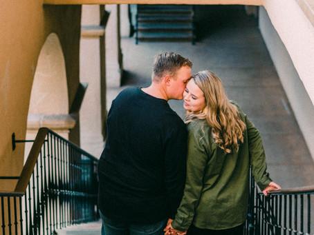 Kevin + Emma at Balboa Park