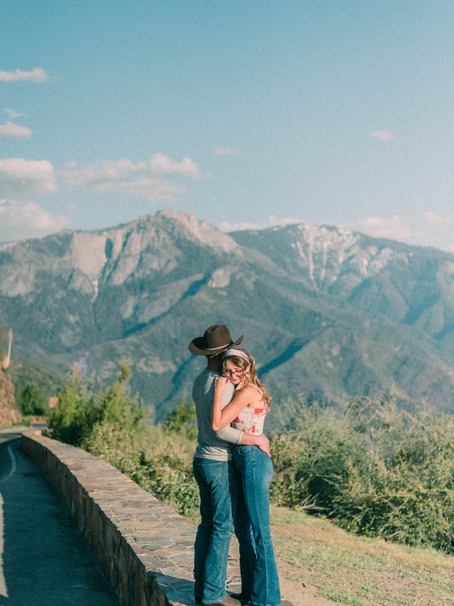 The Morgans at Sequoia National Park