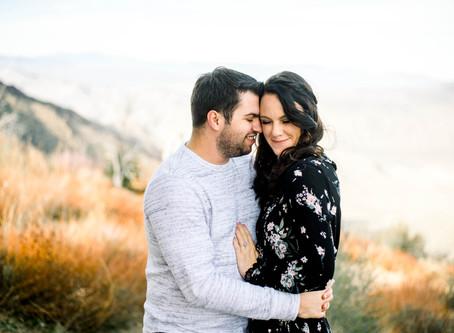 Derek and Jessica on Laguna Mountain