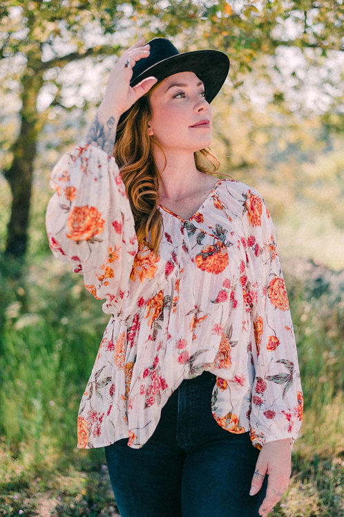 The Isabella Blouse