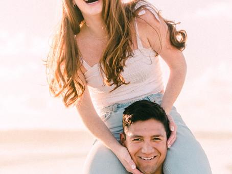 Isabelle + Chris at Coronado Beach