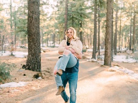 Kacey + Jeremy at Laguna Mountain