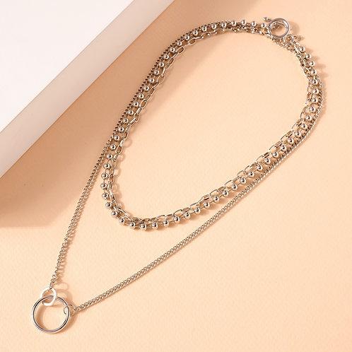 Chain Link Necklace Set