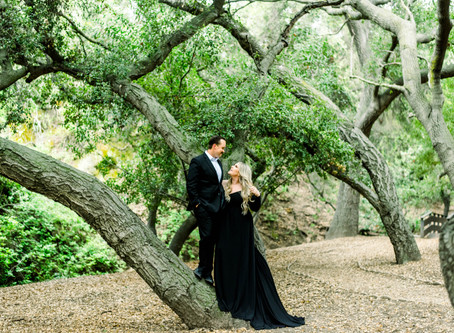 Danielle and Tristan at Oak Canyon Nature Center