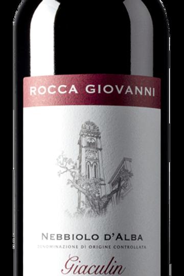 """Rocca Giovanni - Nebbiolo d'Alba """"Giaculin"""" 2017"""