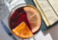 Noble Coyote cocktail - Hibiscus con mezcal