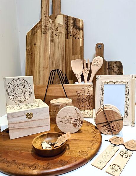 Wood Homewares