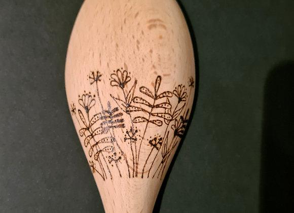 Wooden Spoon - Flora Design
