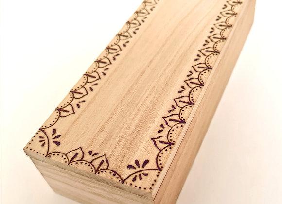 Rectangle Trinket Box - Moroccan Design