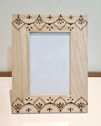 Wooden Photo Frame - Moroccan Design
