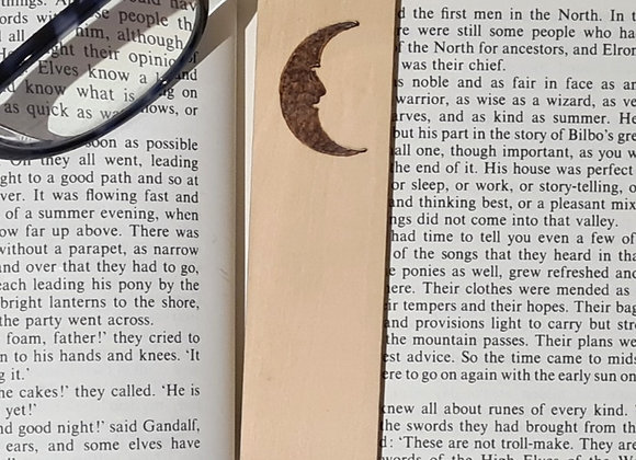 Plywood Bookmark - Dark Moon Design